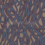 Art Nouveau Mysterious Seamless Vector Pattern