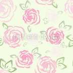 Little Roses Vector Pattern
