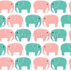 Verliebte Elefanten Vektor Design