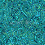 Maritime Serpentines Seamless Vector Pattern Design