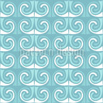 Beim Barte Des Poseidon Nahtloses Muster
