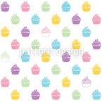 Blaubeer Cupcakes Vektor Design