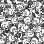 Unsterbliche Blumen Nahtloses Vektormuster