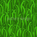 In The Green Grass Seamless Vector Pattern