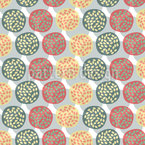 Die Granatapfel Kreise Rapportmuster