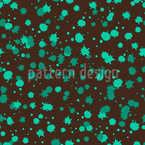 Chocolate Menta Splash Estampado Vectorial Sin Costura