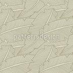 Zartes Blattwerk Muster Design