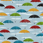 Undercover On A Rainy Day Vector Pattern