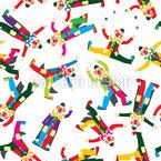 Zirkus Clowns Vektor Design