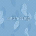 Gentle Feathers Seamless Vector Pattern Design