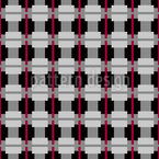 English Squares Seamless Vector Pattern Design