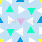 Triangles From The Eighties Seamless Vector Pattern Design