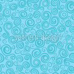 Mermaid Curls Repeating Pattern