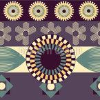 Vintage Geometrie  Nahtloses Vektormuster
