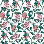 Im Englischen Rosengarten Rapportiertes Design