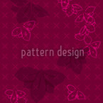 Orchidea Seamless Vector Pattern Design