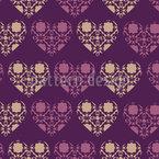 Der Club Der Gotischen Herzen Vektor Ornament