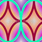Óvulo Design de padrão vetorial sem costura