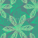 Floral Oriental Repeating Pattern