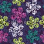 Art Nouveau Flora Belle Musterdesign