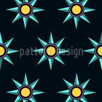 Sternenparade Nahtloses Vektormuster