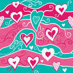 Sweet Heart Ocean Vector Design