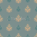 Cool Flower Opulence Seamless Vector Pattern Design