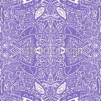 Abstrakte Mosaik Vision Nahtloses Vektormuster