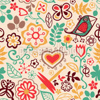 Piepsis Little Paradise Seamless Vector Pattern Design