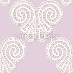 Soft Lace Butterflies  Seamless Pattern