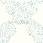 Sheer Lace Butterflies Seamless Vector Pattern Design