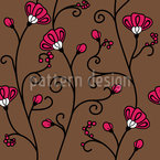Ipomoea Seamless Vector Pattern Design