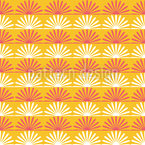 Floral Sunshine Repeating Pattern