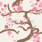Sakura Seamless Vector Pattern Design