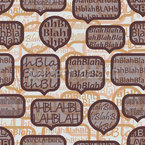 Balderdash In The Coffee Shop Seamless Pattern