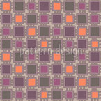 Webstuhl Patchwork  Musterdesign