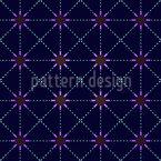 De Estrela a Estrela Design de padrão vetorial sem costura