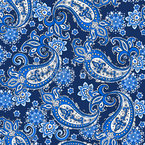 Paisley Royal Seamless Vector Pattern Design