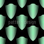 Scutcheons Design de padrão vetorial sem costura