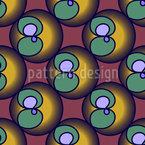 Na Caixa de Frutas Design de padrão vetorial sem costura