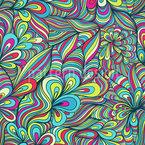 Die Süße Der Fantasie Nahtloses Vektormuster