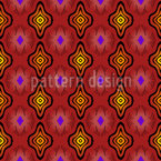 Club Africana Seamless Vector Pattern Design