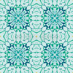 Arctic Floral Seamless Vector Pattern Design