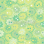 Treetop Spring Seamless Vector Pattern Design