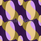 Oval S Seamless Vector Pattern Design