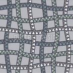 Snake Web At Dawn Seamless Vector Pattern