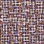 Retro Tropfen Labyrinth Nahtloses Vektormuster
