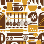 Aunt Toris Kitchen Pattern Design