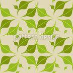 Blatt Symbiosen Muster Design