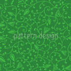 Floral Spring Seamless Vector Pattern Design